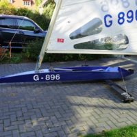 full equipped race iceboat